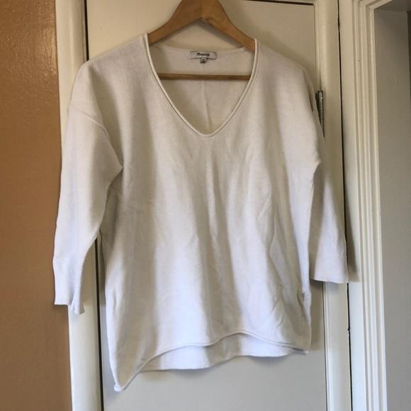 Madewell Sweaters - Madewell V-Neck Sweater